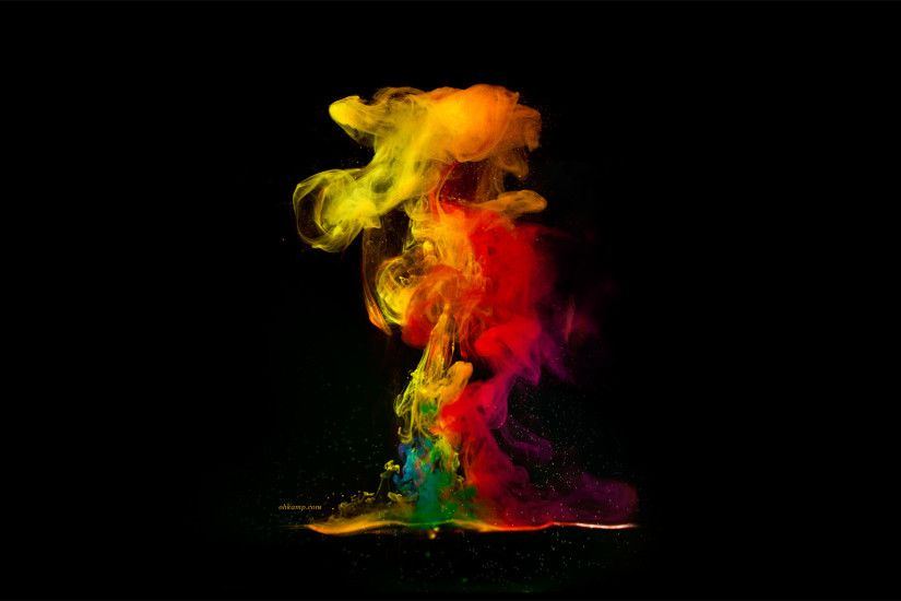 color smoke wallpaper