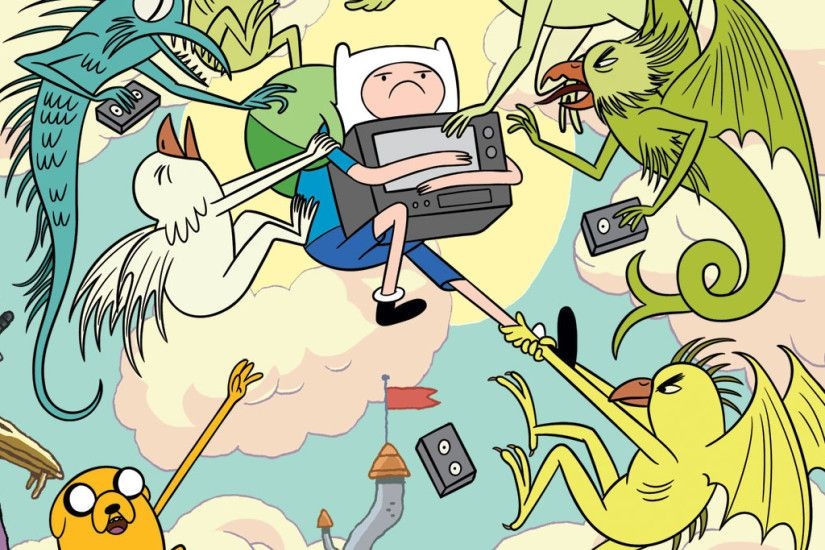 2048x2048 Wallpaper adventure time with finn & jake, finn, jake