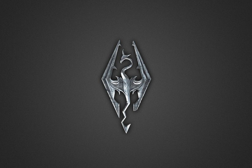 Stanford Wallpaper. 1920x1200. Skyrim Logo
