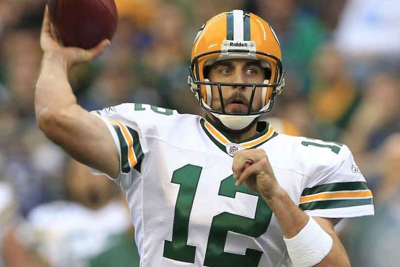 Aaron Rodgers American Football Star Wallpaper ...