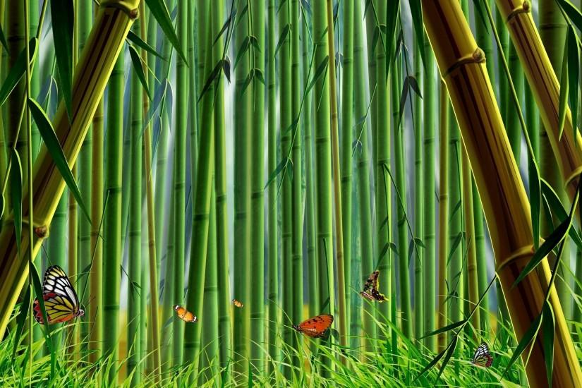new bamboo wallpaper 1920x1200