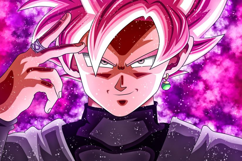 Download Wallpaper · animeGod Goku BlackGoku ...