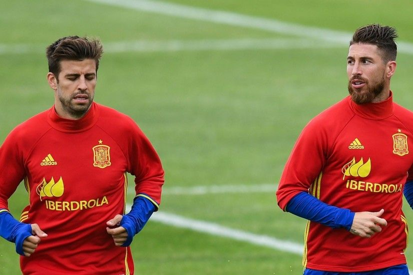 Ramos said speaking about politics made life harder for the national team,  although he insisted Pique's behaviour was excellent.