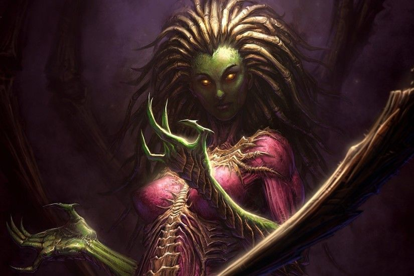 queen of blades sarah kerrigan starcraft fantasy storm