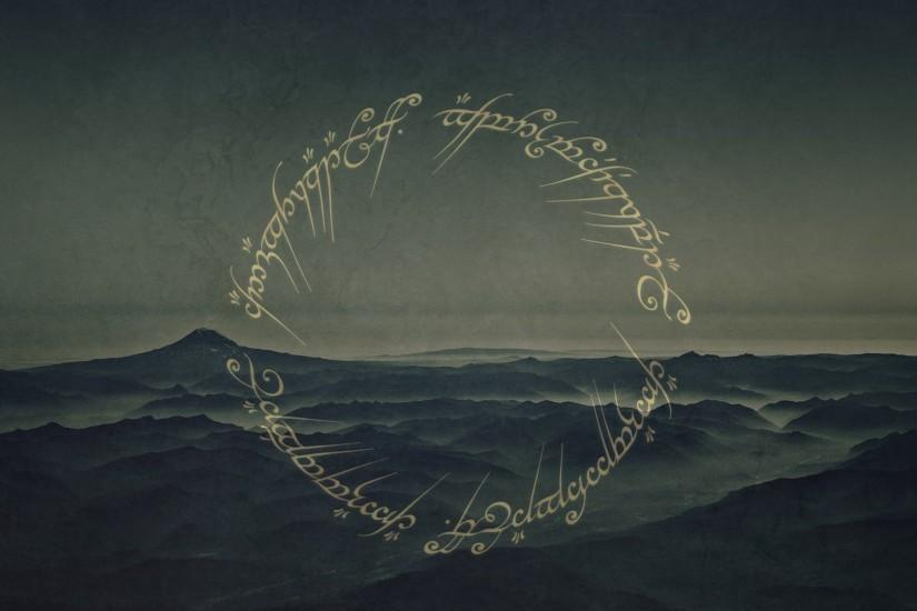 Gallery for - lord of the rings ring inscription background