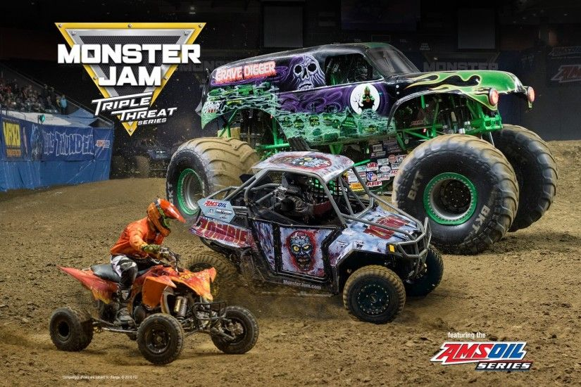 Enter to Win Tickets to the Monster Jam Triple Threat Series