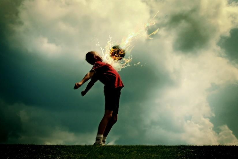 Fire ball Wallpaper Football Sports Wallpapers