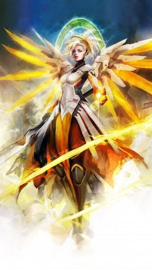 amazing mercy overwatch wallpaper 1440x2560 for mac