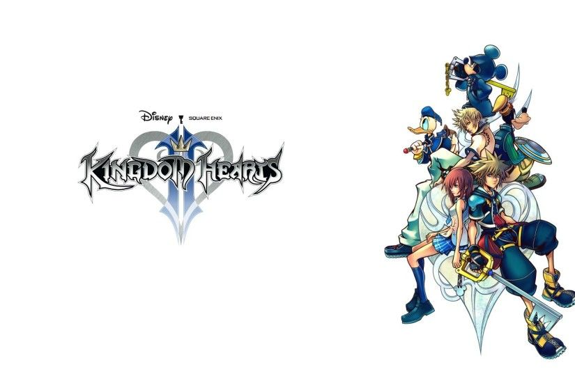 "A ""Simple and Clean"" Kingdom Hearts 2 Wallpaper ..."