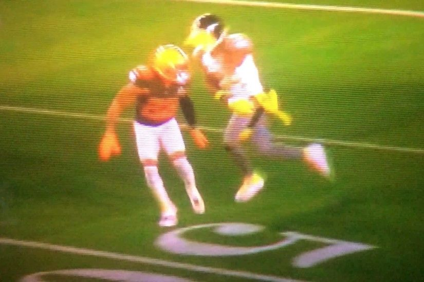 Antonio Brown vs Joe Haden