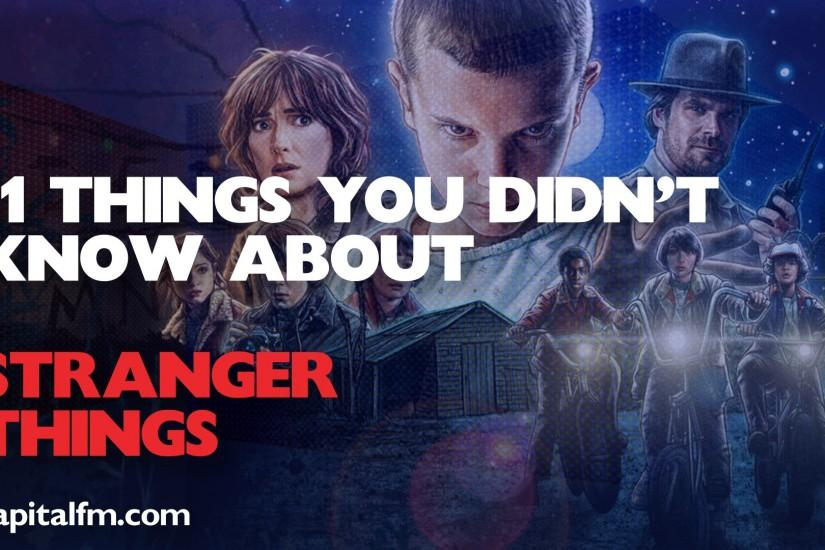stranger things wallpaper 1920x1080 screen