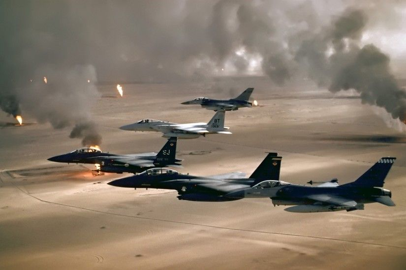 Desert Storm Wallpaper Military Aircrafts Planes Wallpapers