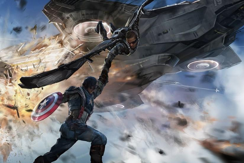 CAPTAIN AMERICA WINTER SOLDIER action adventure sci-fi superhero marvel  wallpaper | 1920x1080 | 471123 | WallpaperUP
