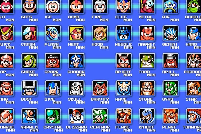 Classic Megaman Wallpaper - Viewing Gallery