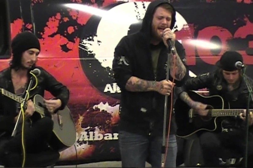 "ASKING ALEXANDRIA ""The Death Of Me"" Acoustic Q103 Garage Session ."