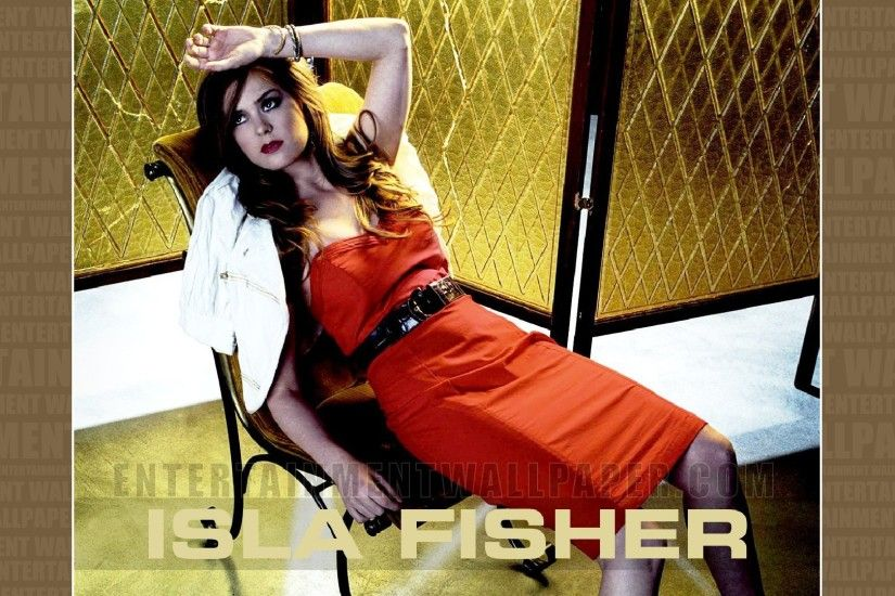 Isla Fisher Wallpaper - Original size, download now.