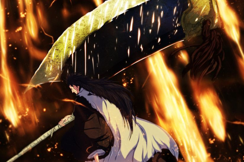 Kenpachi Zaraki Bankai Wallpaper HD Great Download Free Wallpapers