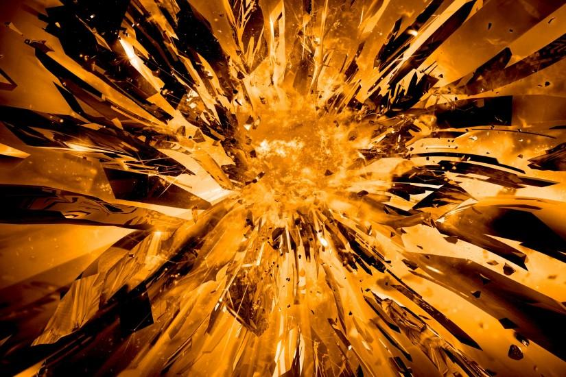 cool explosion background 2560x1440 for android tablet