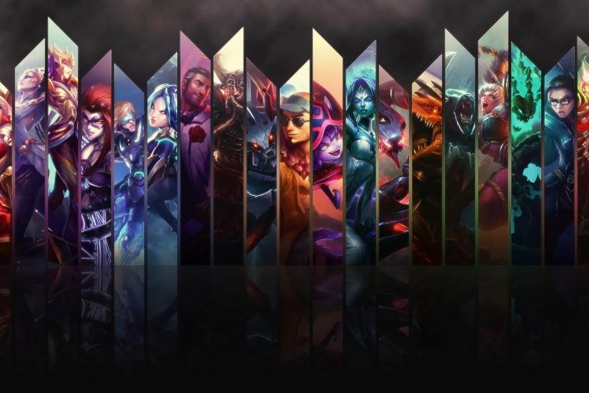 free league of legends background 1920x1080