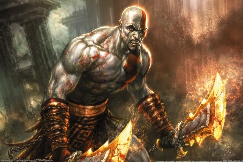 God Of War HD Wallpapers Backgrounds Wallpaper