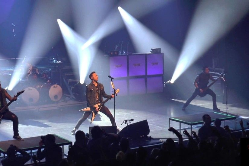 Bullet for my Valentine, Scream Aim Fire,LIVE@, A.B., FULL HD 1080, 2014 -  YouTube