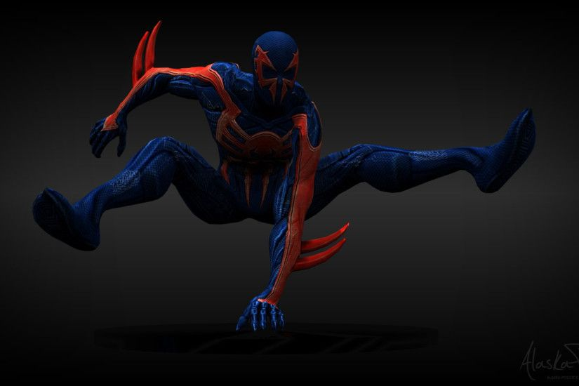 ... Spider-Man 2099 by Alaska-Pollock
