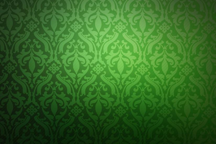 Green retro pattern background wallpaper