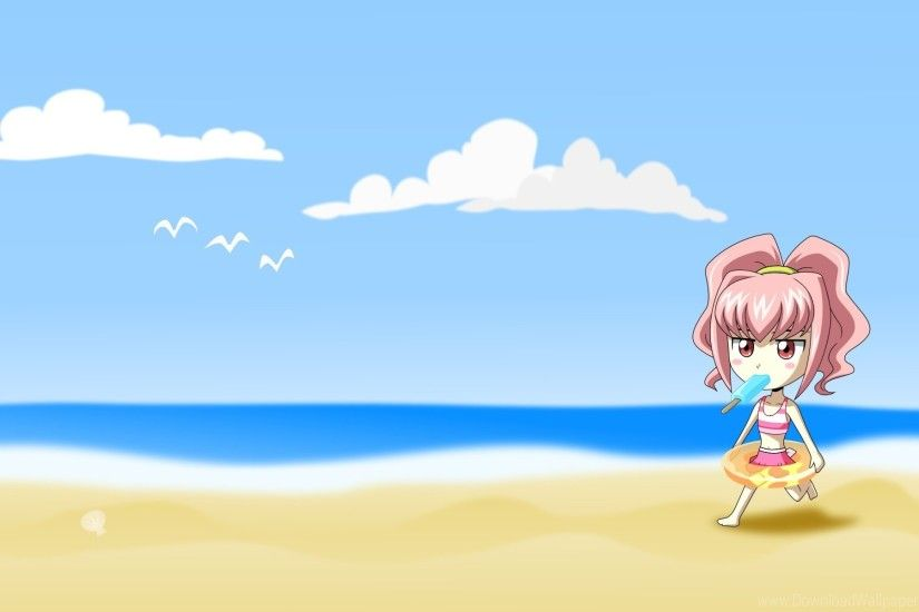 Similiar Cartoon Beach Wallpaper Keywords
