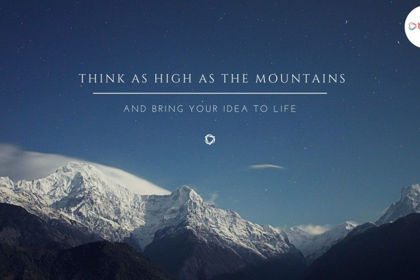 think-as-high-as-the-mountains-wallpaper