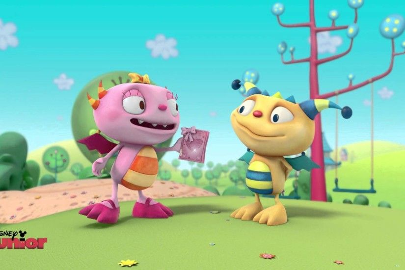 Henry Hugglemonster - Valentines Day - Official Disney Junior UK HD -  YouTube