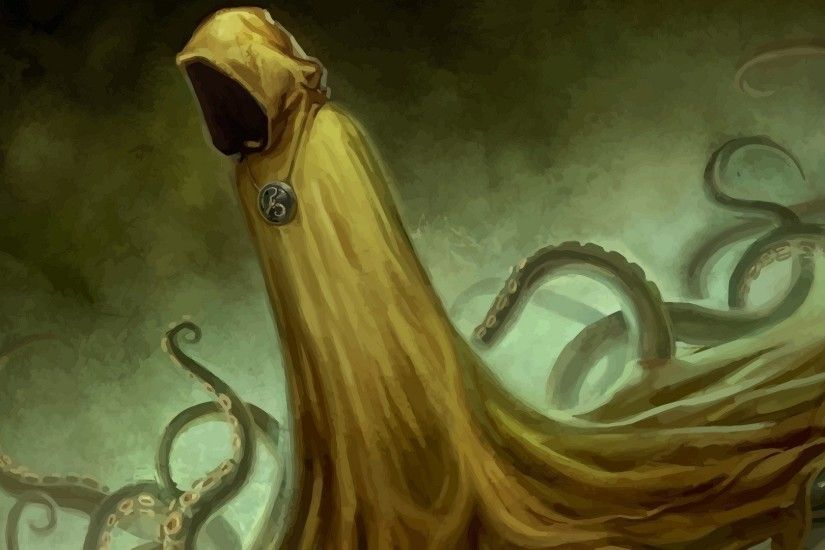 Fantasy - Dark H. P. Lovecraft Hastur Cthulhu Wallpaper