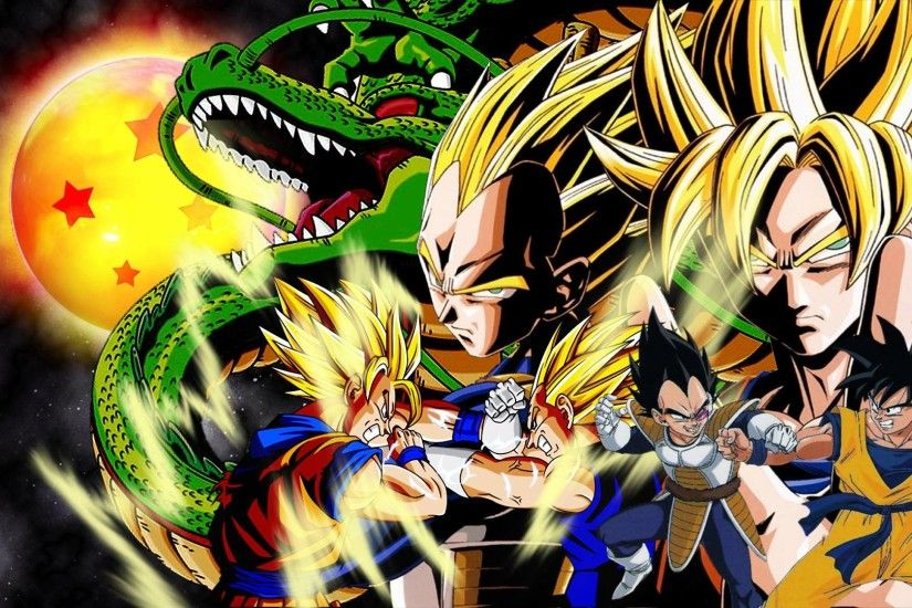 Goku vs vegeta by HD Wallpaper