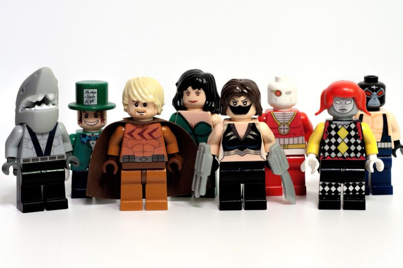 Lego Secret Six Comic – Killer Shark, Catman, Scandal, Ragdoll, Mad Hatter,  Cheshire, Deadshot, and Bane wallpaper