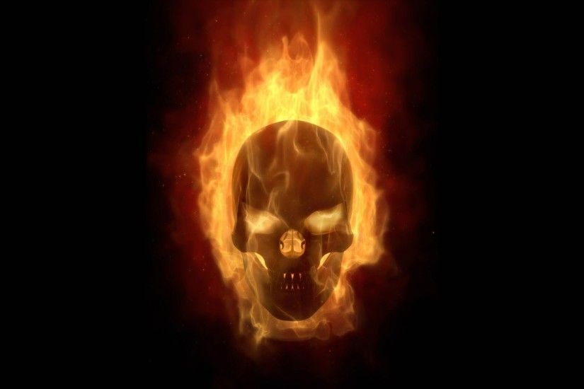 Photo Collection Punisher Skull Blue Flames Wallpaper