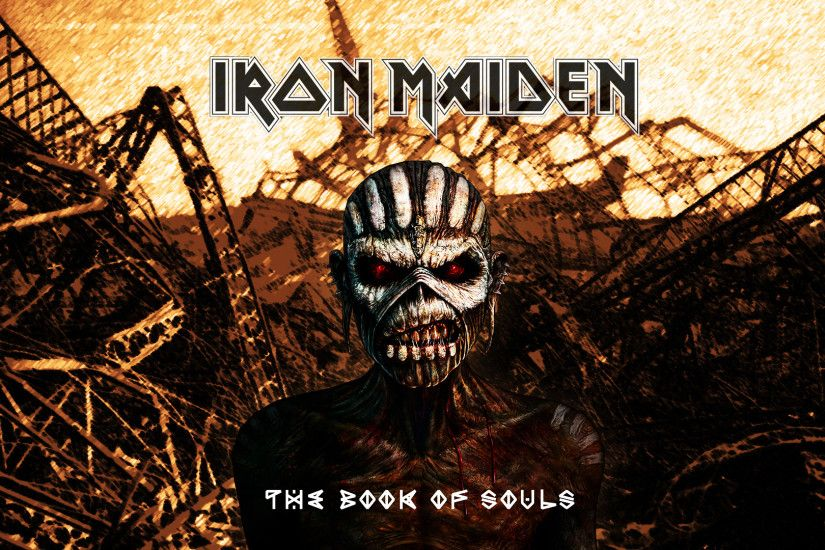 ... Iron Maiden 'The Book of Souls' r101 Wallpaper ...