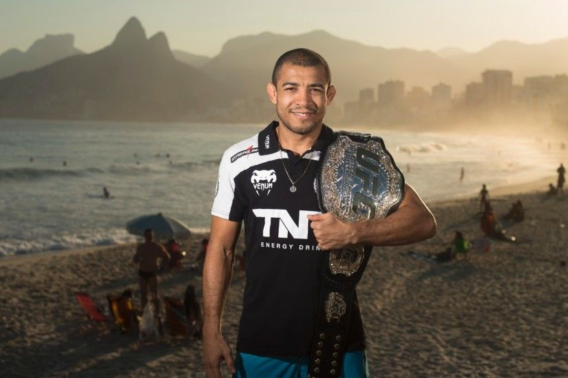 Fearless Jose Aldo wallpaper