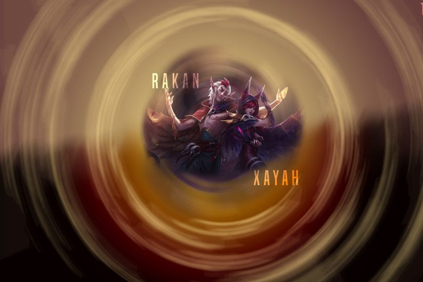 Xayah & Rakan by Roxyshk HD Wallpaper Fan Art Artwork League of Legends lol