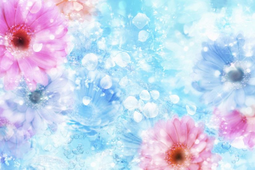 Flowers Mac Background Wallplaper