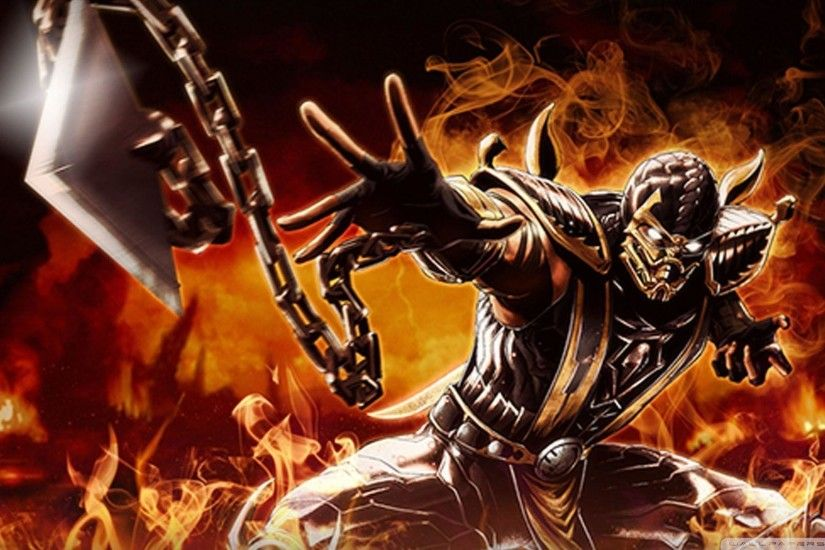 Animals For > Mortal Kombat Wallpaper Scorpion