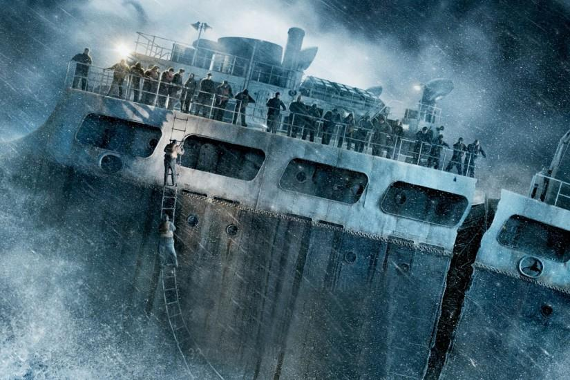 2560x1600 Wallpaper the finest hours, ship, wreck, storm