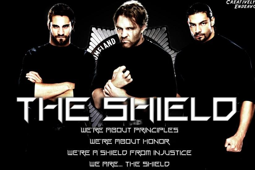 Wallpaper Wednesday: The Shield Wallpaper (Dean Ambrose, Seth Rollins &  Roman Reigns)