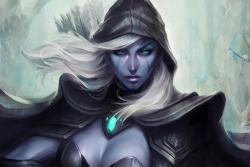traxex drow ranger dota 2 hero girl hd