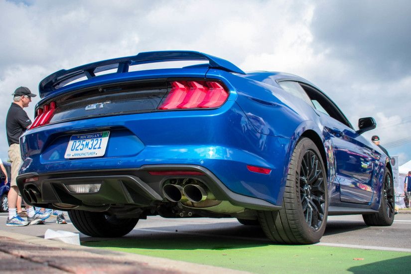 "2018 Mustang Quad Tip Exhaust""> </p> ..."