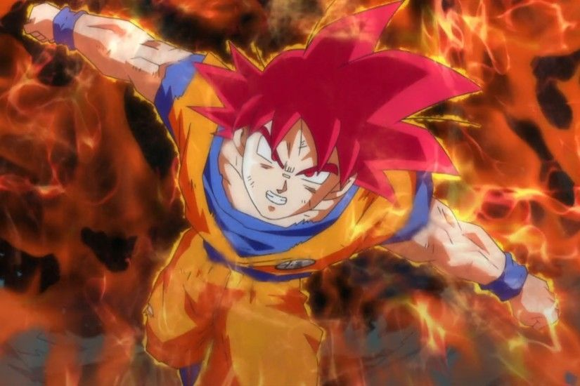 1920x1080 Dragon Ball Z Battle Of Gods Super Saiyan God Goku Vs Bills – HD  Wallpaper Gallery