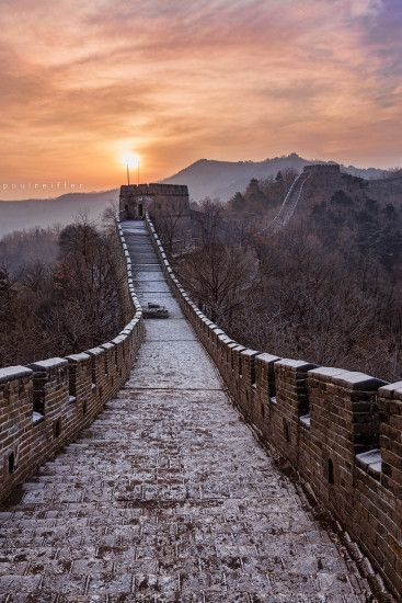 Beijing Mutianyu Great Wall China Sunrise Paul Reiffer Photographer China  IMG_2471_web