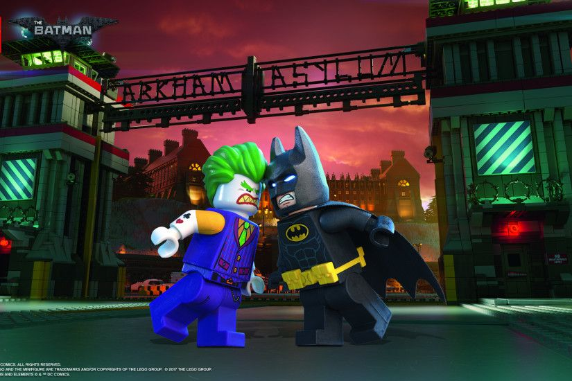 Batman™ vs. The Joker™ Wallpaper. Download landscape · Download portrait