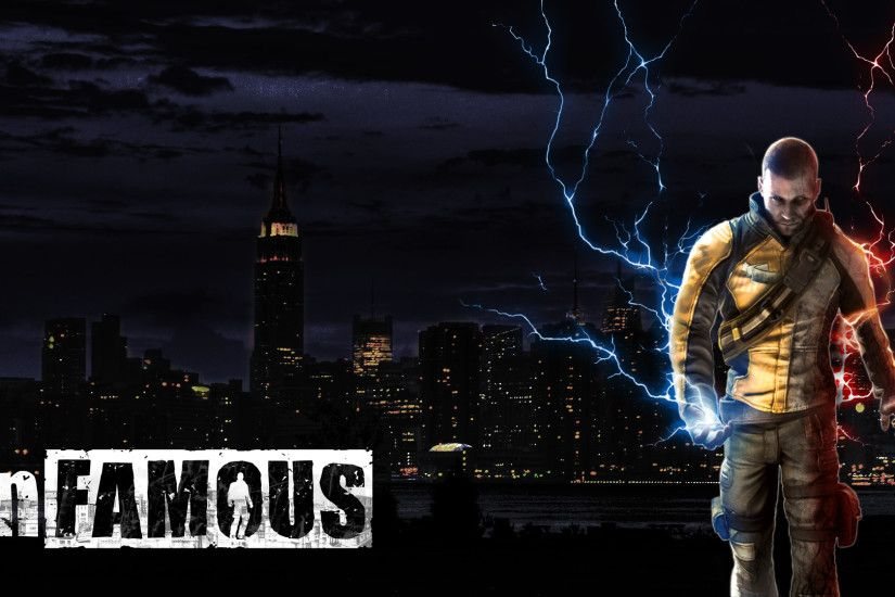... PC 1920x1080 px Infamous 2 Wallpaper, Wallpapers-Web Gallery ...