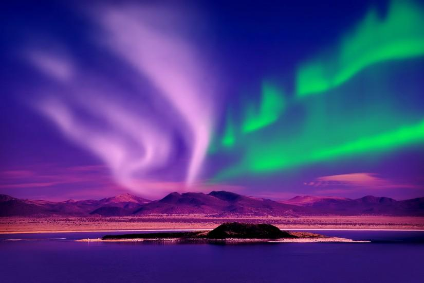 aurora borealis wallpaper 2560x1695 full hd