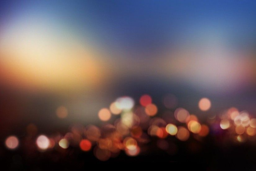 Blurred-City-Lights-Widescreen-Background-Wallpaper