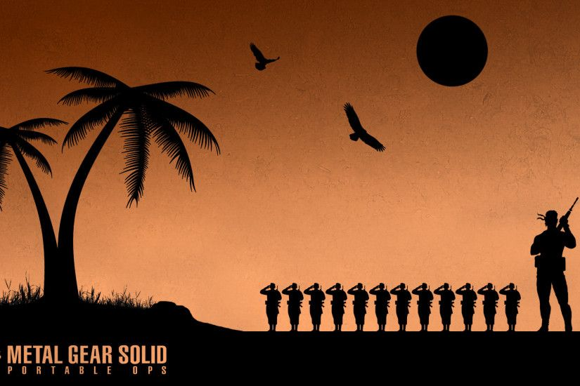 4 Metal Gear Solid: Portable Ops HD Wallpapers | Backgrounds - Wallpaper  Abyss